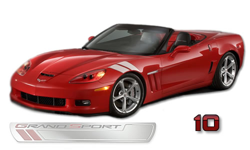 The 2010 Corvette Grand Sport is a track-oriented edition