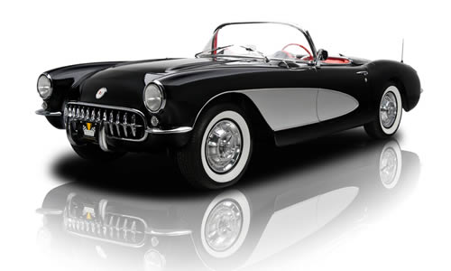1957  Fuel-Injected V-8 Corvette