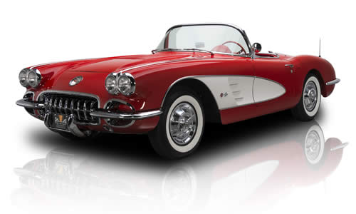 Corvette was jazzed up for 1958
