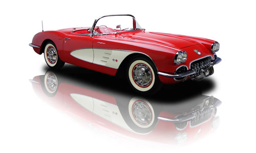 1960, Corvette as America's sports car.