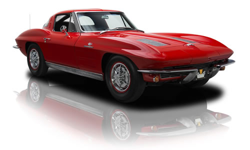 1963  Corvette Received Major Restyling