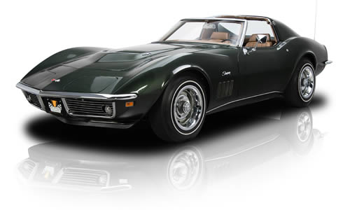 The 1969 Corvette Shark became a Stingray