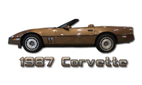 By 1987, thru 1989 the C4 Corvette had come into its own