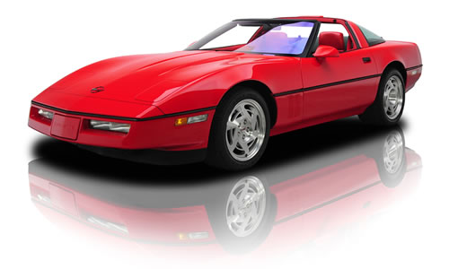 "1990 the eagerly anticipated ""King of the Hill"" Corvette ZR-1"
